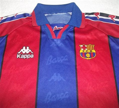 Polo Shirt Inter Milan Fc Murah vtg retro fc barcelona 1995 1997 home football shirt jersey kappa 1996 ebay