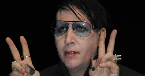 is that you marilyn manson rockstar is unrecognisable
