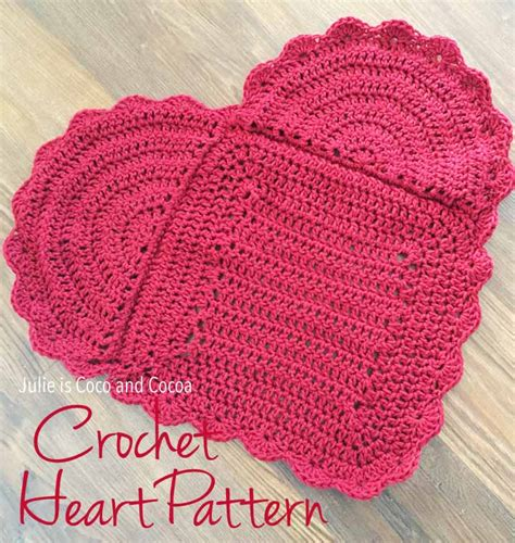 crochet heart pattern free youtube you are loved crochet heart pattern julie measures