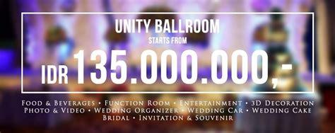 Weddingku Ballroom by Unity Ballroom Weddingku