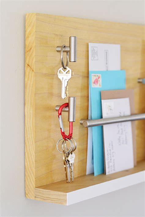 diy entryway organizer stylish wall mail organizer for your entryway wall mail