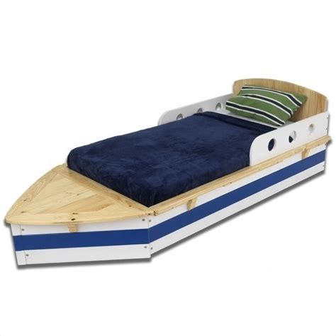 kids boat bed kidkraft boat cot toddler bed ebay