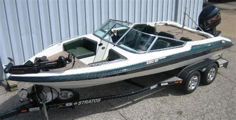 stratos fish and ski boat seats stratos 290 boats for sale