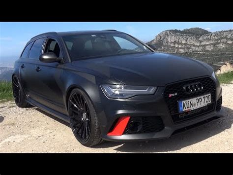 Audi Rs6 Pp Performance by Onboard Ride 750hp Audi Rs6 Pp Performance Loud Backfires