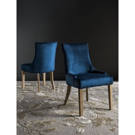 navy arm dining chair
