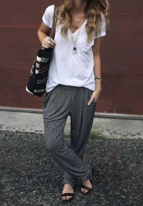 Stylish Slouchy Trousers by Slouchy Everyday Style Summer I