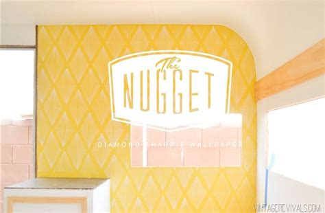 classic revivals wallpaper the nugget retro diamond sharpie wall pattern vintage