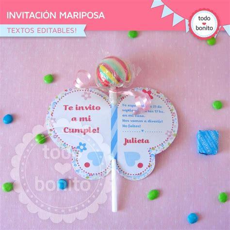 imagenes de invitaciones mariposas flores y mariposas invitaci 243 n para imprimir mariposa