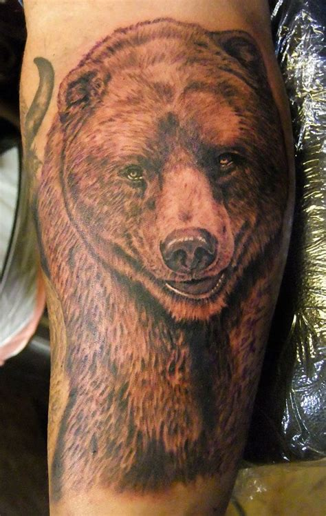 grizzly bear tattoos for men grizzly tattoos for more like firefly