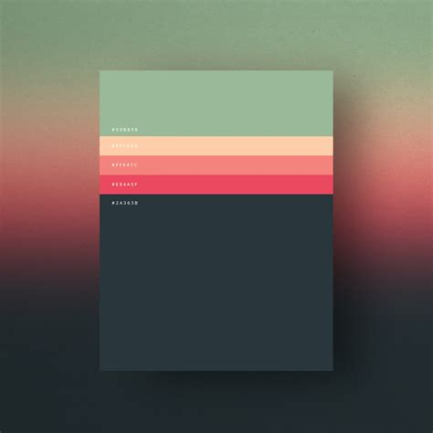 minimalist color palette 2017 minimalist color palettes 2015 on behance