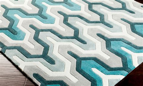 teal and silver rug rug teal silver at joybird