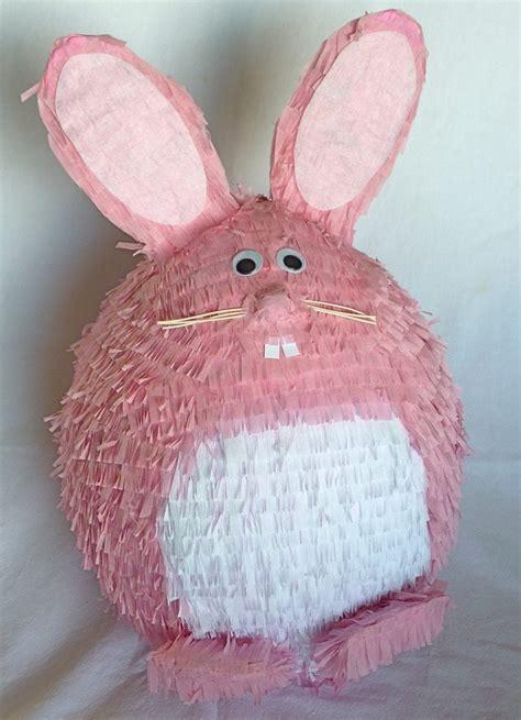 Easter Rabbit Bunny Paper Mache - pinata bunny
