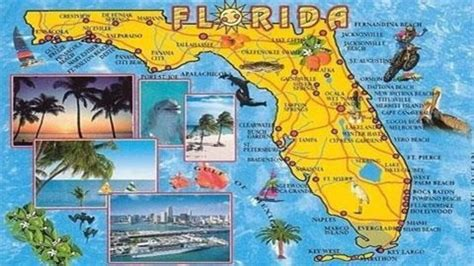 map of florida tourist attractions florida could top 100 million visitors in 2015