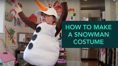 how to make a snowman costume easy diy care