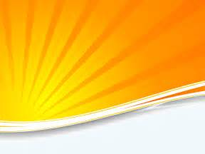 orange sunburst ppt backgrounds orange technology