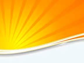 Orange Powerpoint Template by Orange Sunburst Ppt Backgrounds Orange Technology