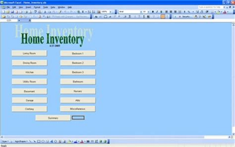 Home Inventory by Home Inventory Home Inventory Checklist