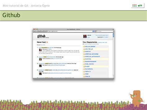 github tutorial push mini tutorial de git
