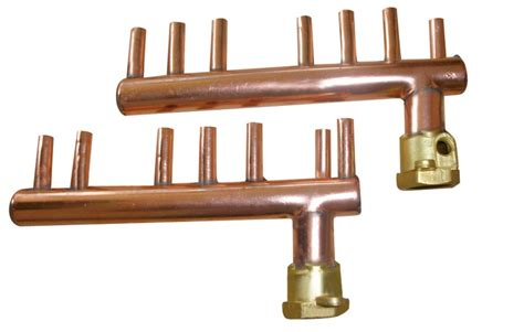 Copper Manifold Plumbing - refrigeration copper fittings series products kaweller
