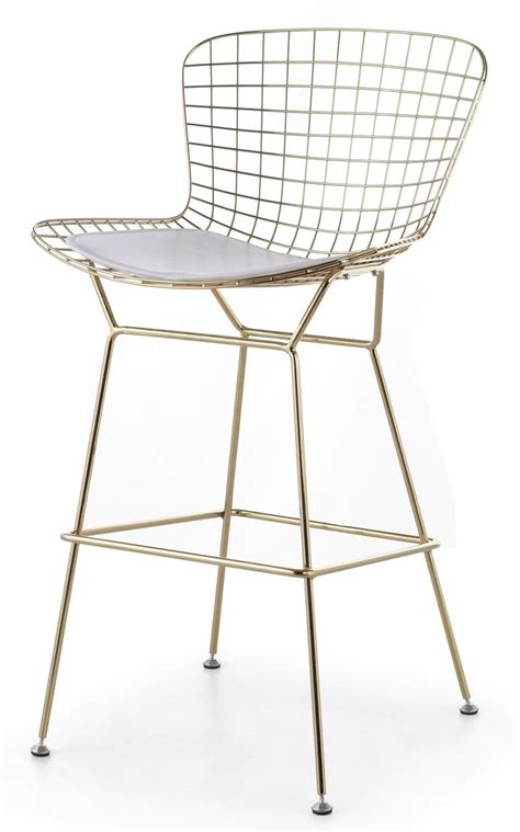 Bertoia Bar Stool Gold by 1000 Images About Chair On Furniture Eames