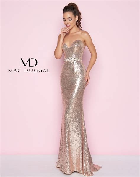 Sequined Prom Dress 77427l mac duggal sequin prom dress