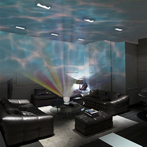 Bedroom Light Projector Wave Light Elecstars Player Multicolor Led Bulbs Projection L And