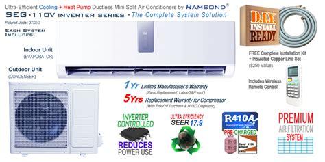 255rb E M O R Y Varrany Series 06emo1359 ramsond 27seg inverter ductless mini split ac heat ramsond