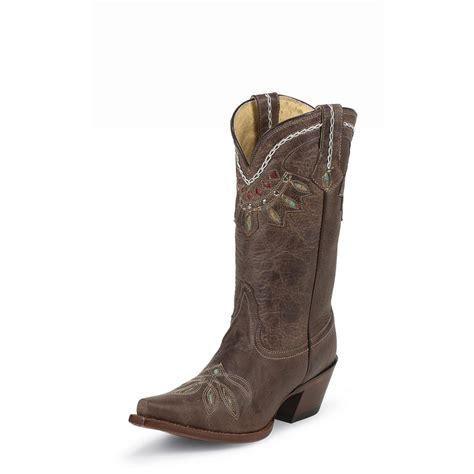 tony lama womens boots s tony lama 174 rancho boots chocolate 578522