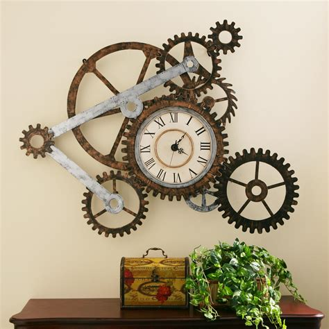 art wall clock view larger