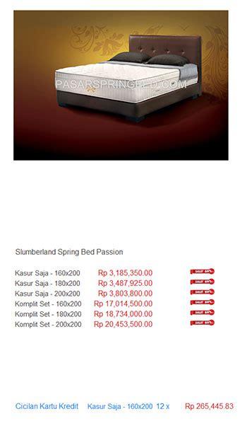 Daftar Kasur Palembang Terbaru harga slumberland bed harga bed termurah