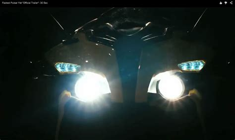 Lu Projector Pulsar 220 bajaj pulsar 200rs headl teaser indian autos
