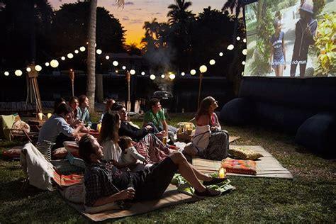 the backyard documentary how to set up a backyard movie theater vanity fair