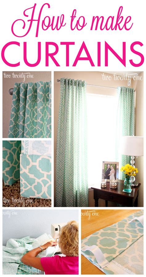 make curtains crear cortinas con cinta de ollaos ideas and html