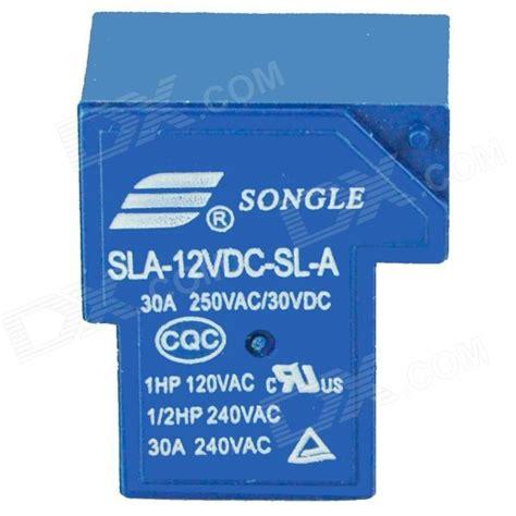 sla 12vdc sl a relay blue 12v free shipping