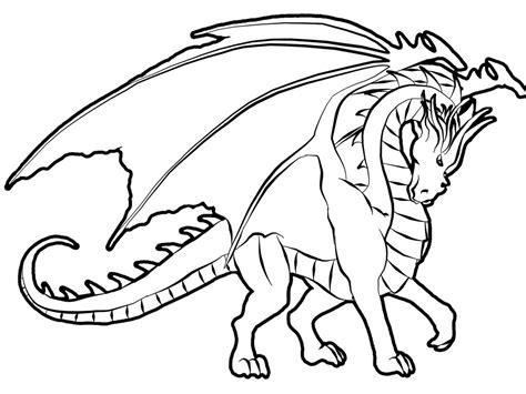 Free Printable Coloring Pages Of Dragons | free printable dragon coloring pages for kids