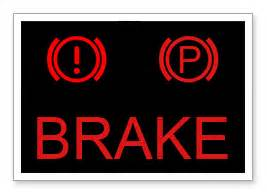 Brake System Alert Light Brake Hydraulic System Warning Light