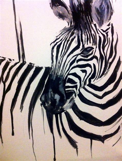 zebra paint zebra katy jade dobson