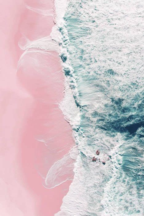 Blue Pink 7707 Size 27 30 sea of ii ingrid beddoes aerial photography