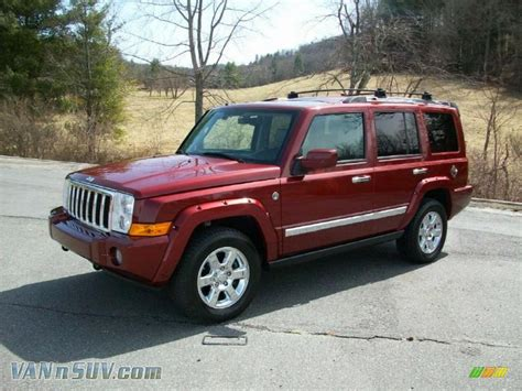 2008 Jeep Commander Overland For Sale 2008 Jeep Commander Overland 4x4 In Rock Pearl