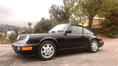 how cars run 1991 porsche 911 auto manual 1991 porsche 911 964 carrera 4 coupe manual black on matador red interior rare classic