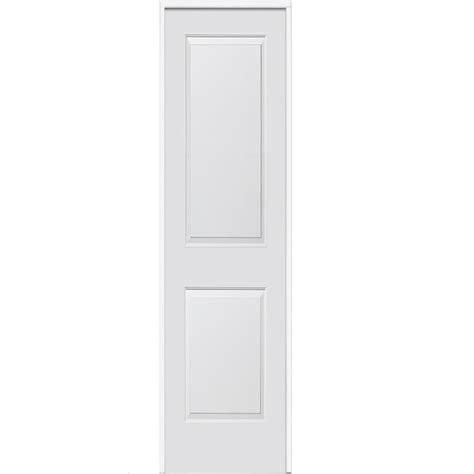 16 Interior Door Mmi Door 16 In X 80 In Smooth Carrara Left Solid Primed Molded Mdf Single Prehung
