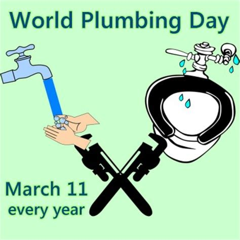 Day Plumbing by Celebrate World Plumbing Day March 11 Nonstop Celebrations