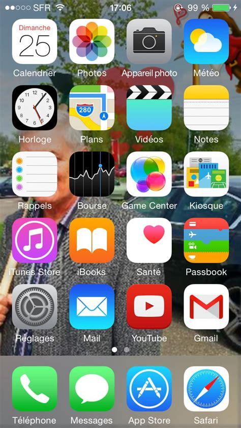 iphone 6 abaisser les ic 244 nes de l 233 cran d accueil