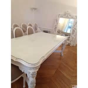 table pour salle de r 233 union en bois blanc massif mod 232 le