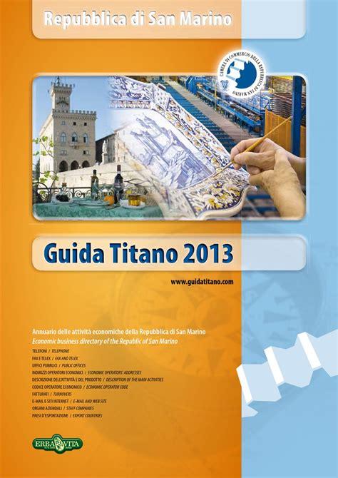 di commercio san marino guida titano 2013 by di commercio san marino san