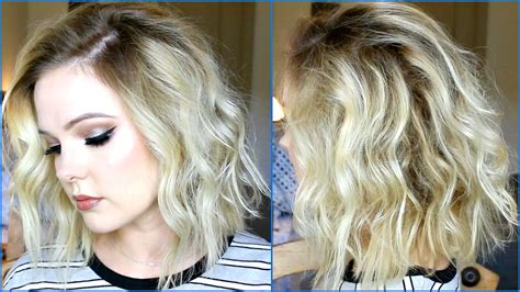 tutorial wavy lob wavy long bob tutorial www pixshark com images