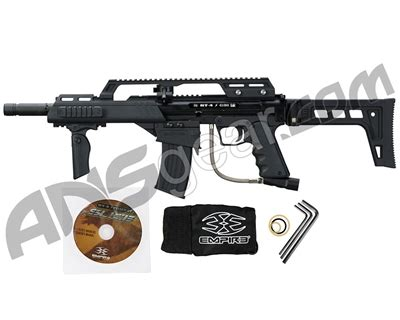 empire bt 4 slice g36 paintball gun black