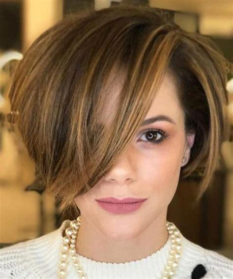 neck length bob hairstyles 2018 chunk of style short best 25 layered bob haircuts ideas on pinterest wavy