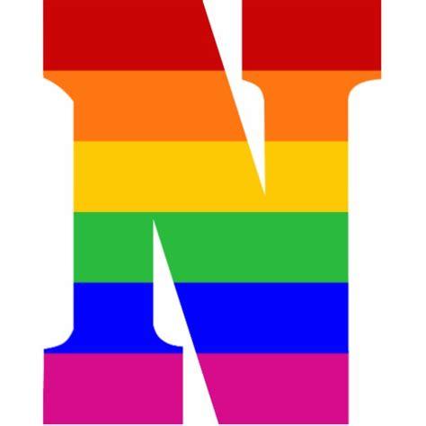 printable rainbow letters rainbow letter n photo cutout zazzle