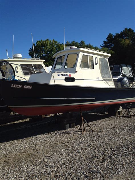 used downeast fishing boats for sale 2011 used eastern boats 22 lobsterfisherman downeast